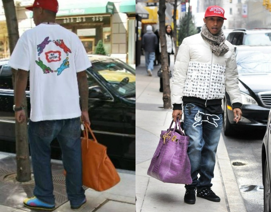 Pharrell Williams Hermes Birkin Bag
