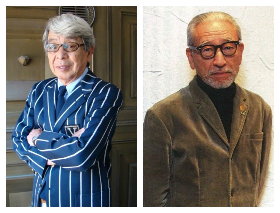 (左)長子石津祥介;(右)Ivy 狂熱份子 Toshiyuki Kurosu