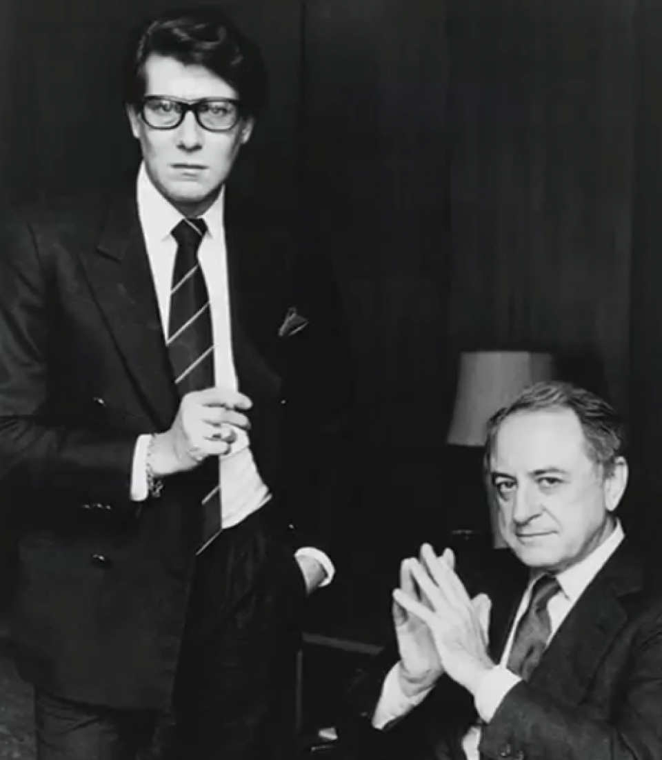 Yves Saint Laurent & Pierre Bergé