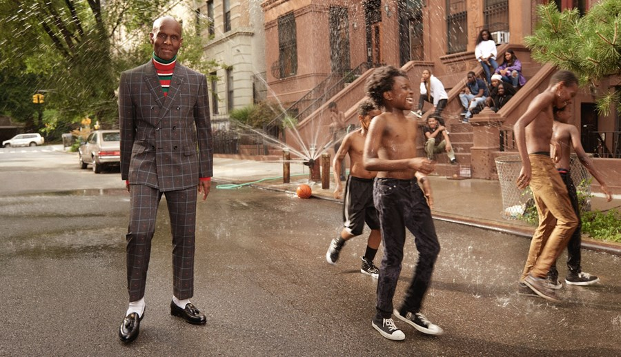 Dapper Dan Gucci Tailoring ad campaign 2018