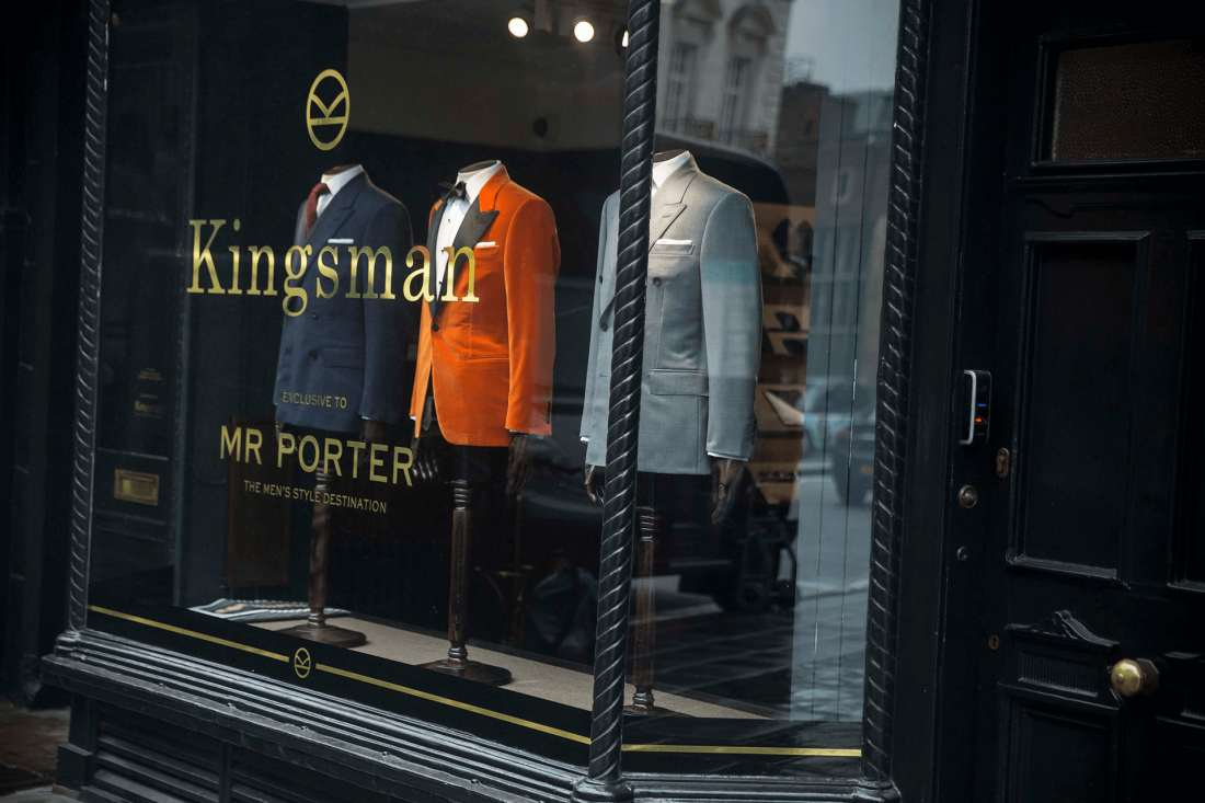 MR PORTER x Kingsman 實體店鋪