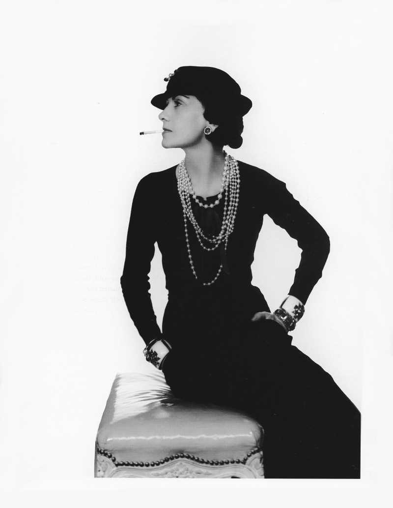 Coco Chanel 1935 by Man Ray