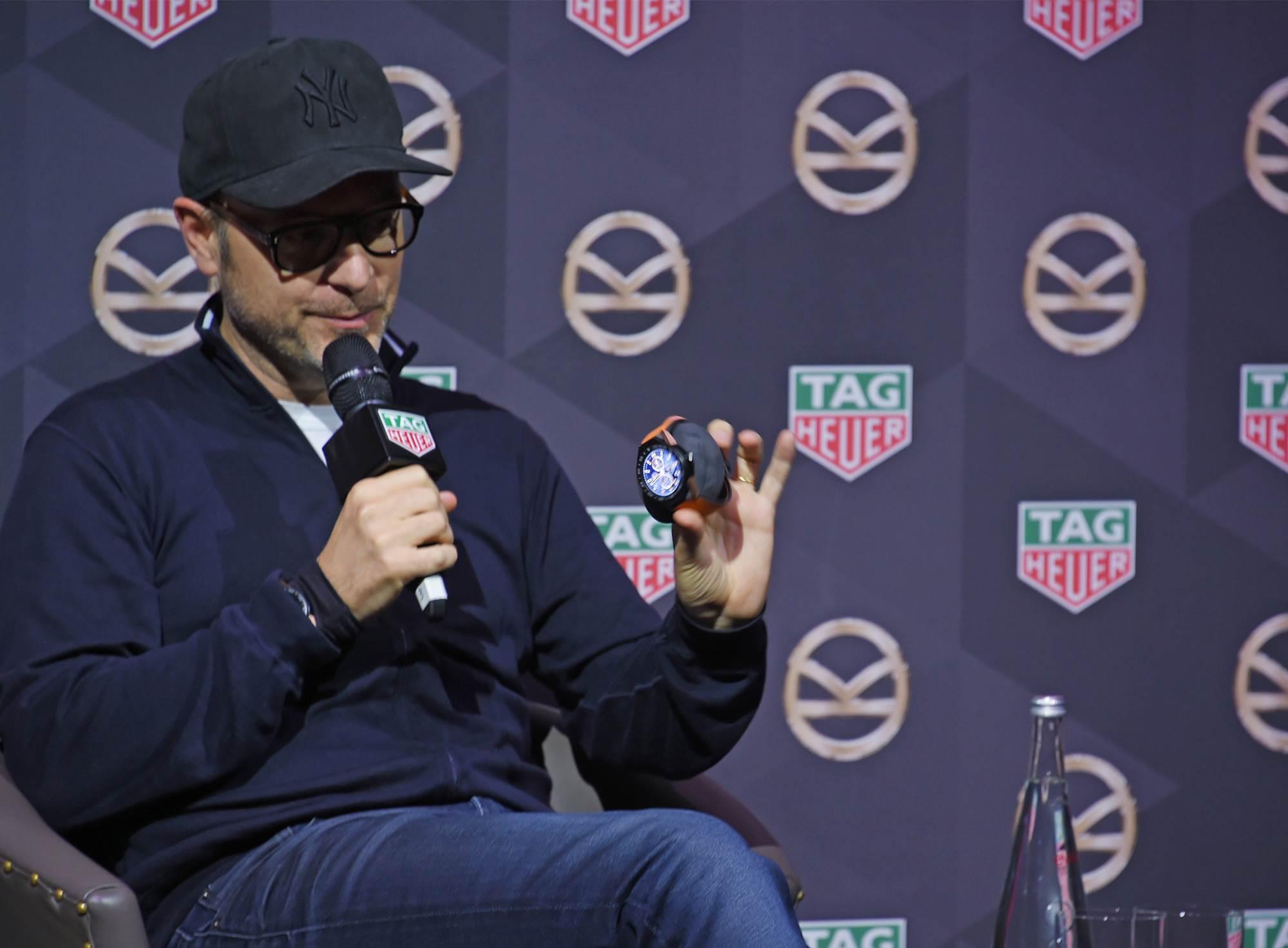 Matthew Vaughn & TAG Heuer Connected Modular 45