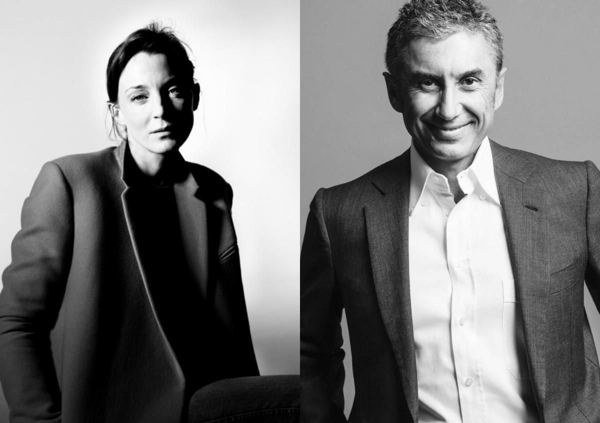 左:Phoebe Philo;右:Marco Gobbetti