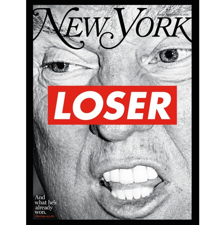 Barbara Kruger New York Magazine Donald Trump Cover