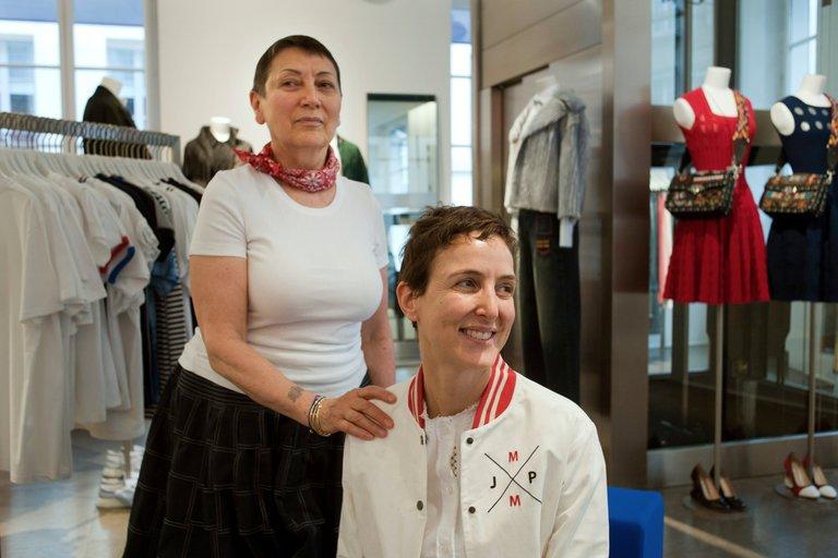 Colette Rousseaux & Sarah Andelman, via The New York Times