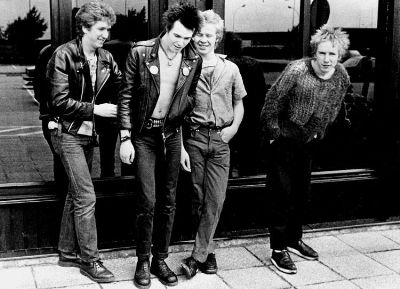 Sid Vicious in Dr. Martens