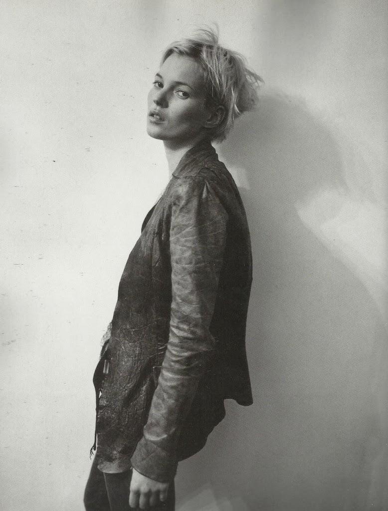 Kate Moss 穿上 Rick Owens 的皮衣登法國版《Vogue》致使爾後受到美版《Vogue》關注