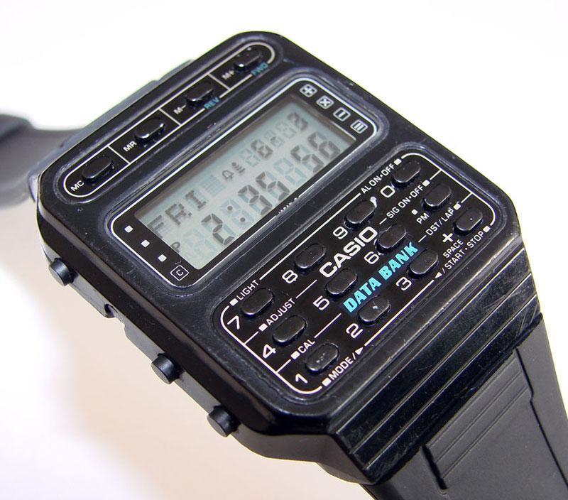 可以儲存電話簿的 CASIO  CD-40