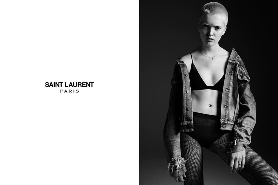 Ruth Bell for Saint Laurent 2016 Cruise AD