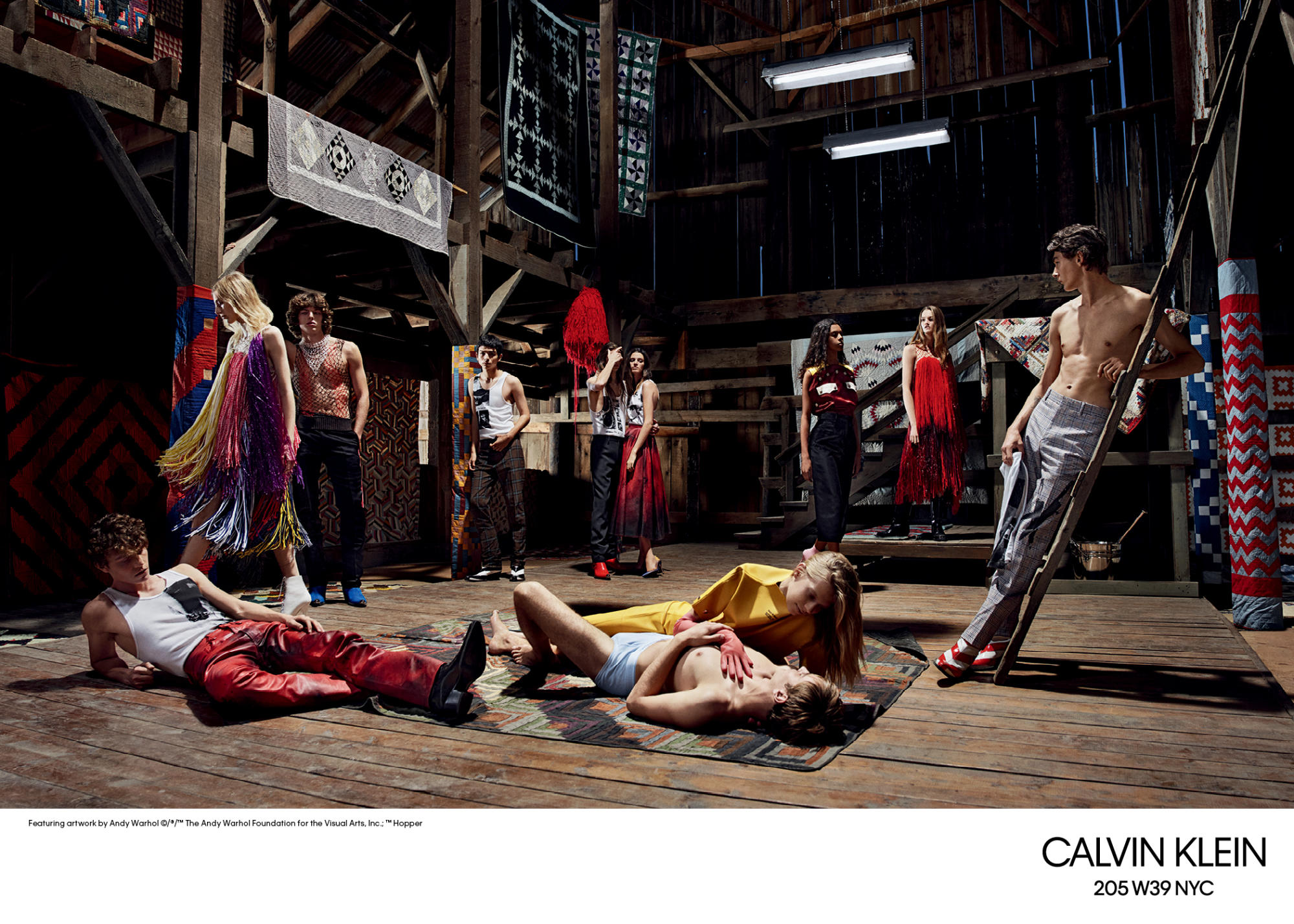 Calvin Klein 2018 S/S AD campaign