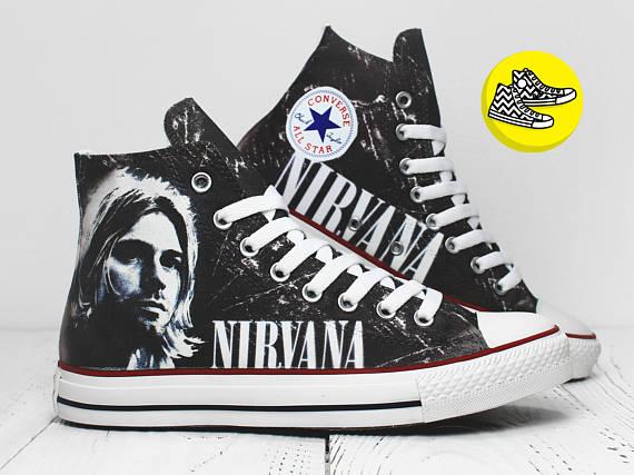Kurt Cobain x Converse
