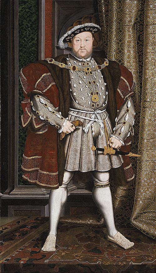 據悉,當時的習慣,是把統治者畫成超凡入聖之人。他之所以這樣作畫必然是經過深思熟慮的;而且可能有意取悅亨利八世的作法,因為這是亨利初次任命 Hans Holbein 作畫。