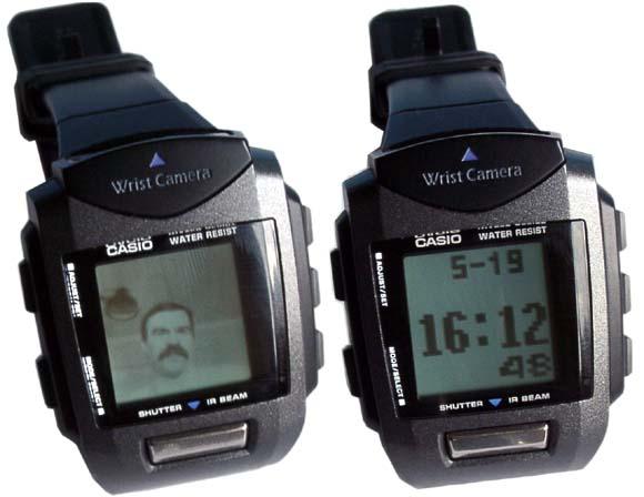第一支拍照手錶 Wrist Camera