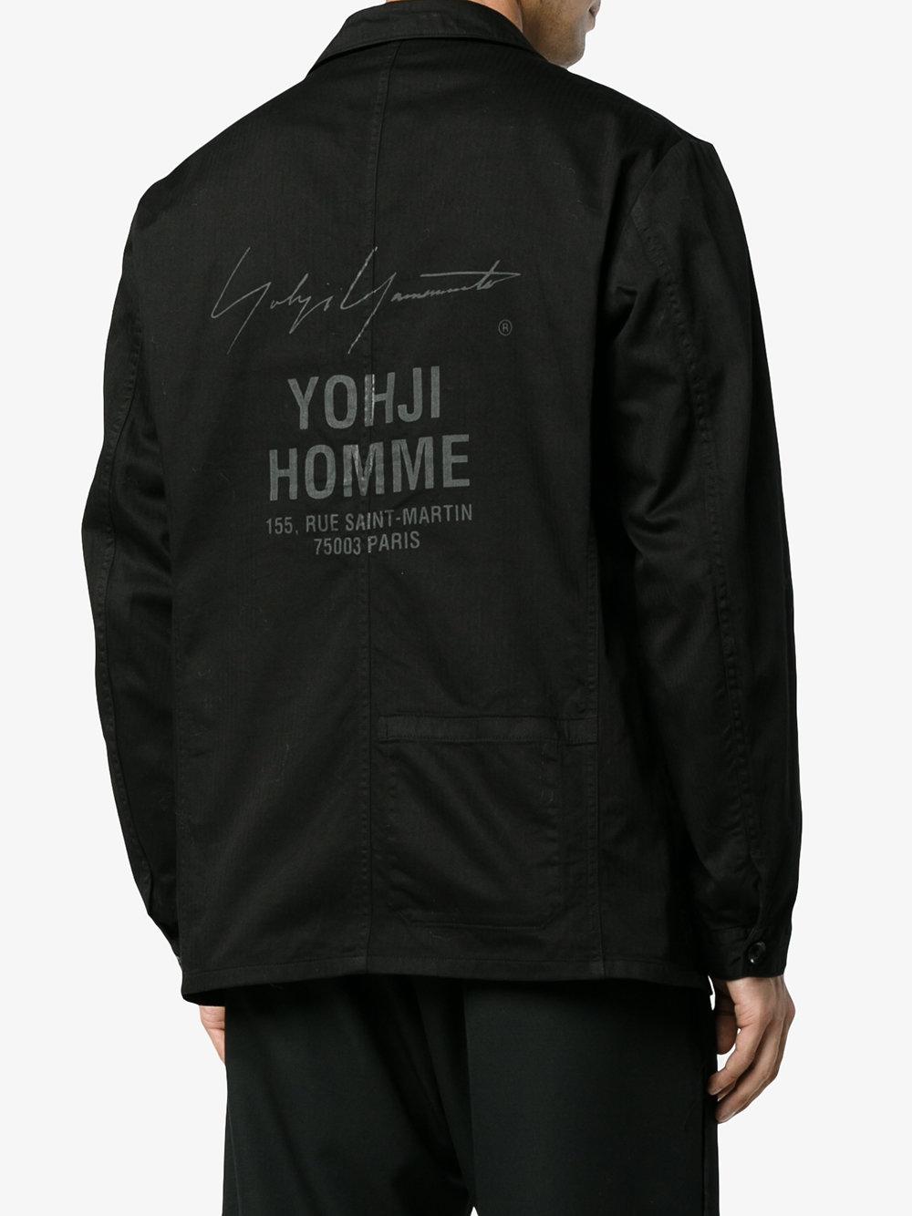 山本耀司說:「這無關自尊驕傲,因為年輕人(尤其是在中國)都喜歡它顯露在外面,所以我玩玩Yohji Yamamoto。」photo via Browns