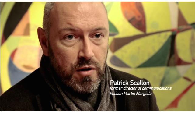 Maison Martin Margiela 新聞負責人 Patrick Scallon(1997-2003)