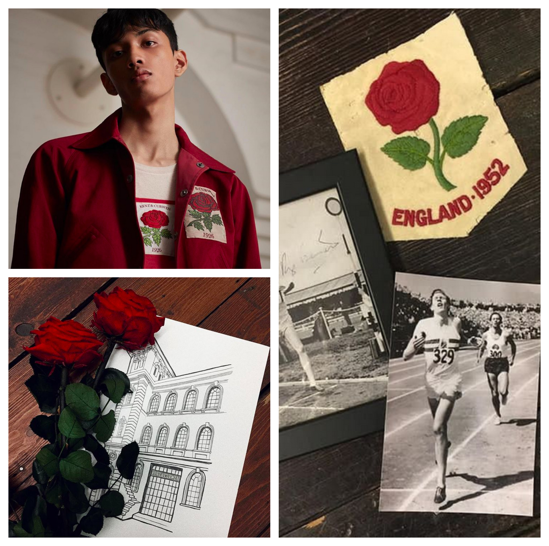 Kent&Curwen 玫瑰圖案來由是英國國花