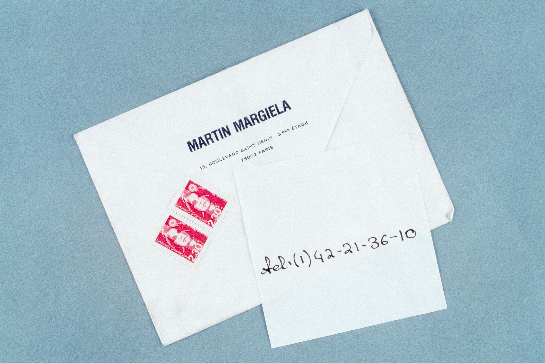 Maison Martin Margiela 1994 S/S invitation