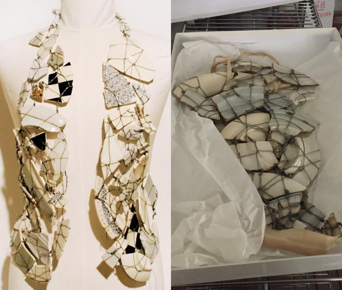 Porcelain Vest, Maison Martin Margiela F/W 1989