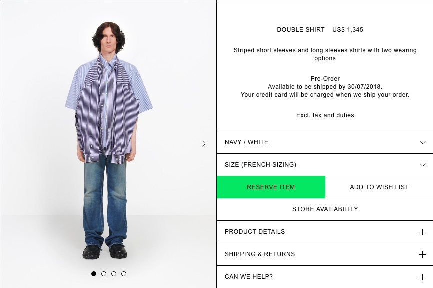 Balenciaga T-Shirt Shirt_2