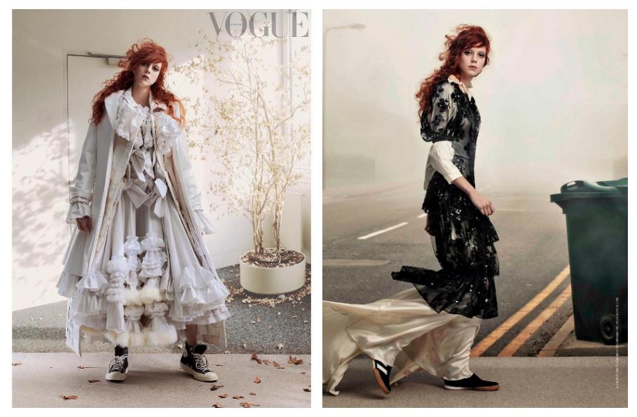 British Vogue April 2018, Style by Grace Coddington