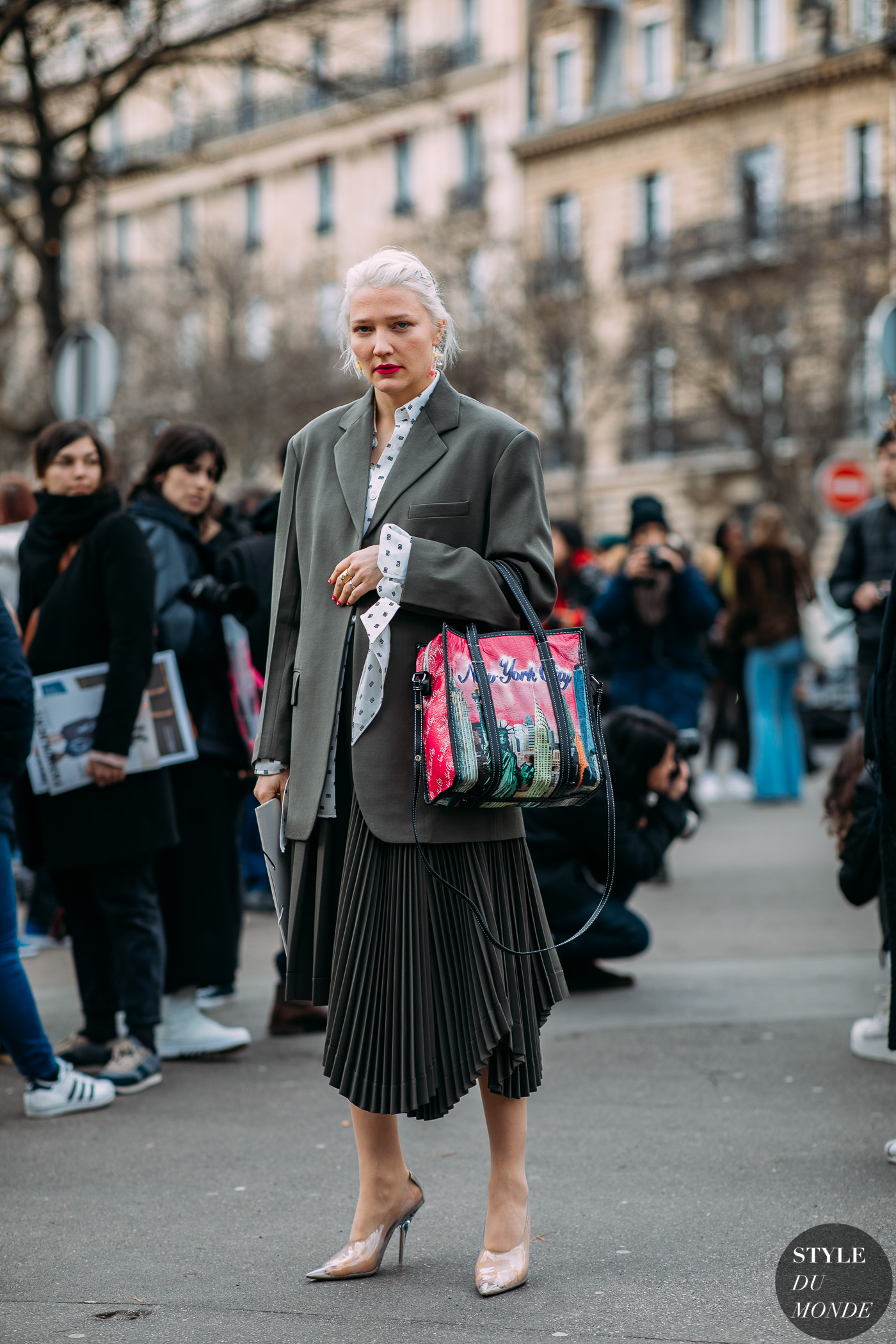 Lotta Volkova photo via Style du Monde