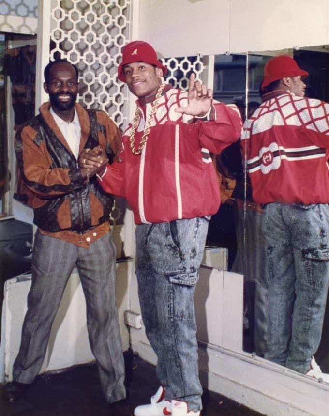Dapper Dan & LL Cool J, photo via COMPLEX