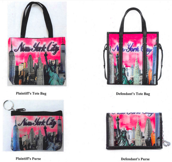 (左)City Merchandise;(右)Balenciaga