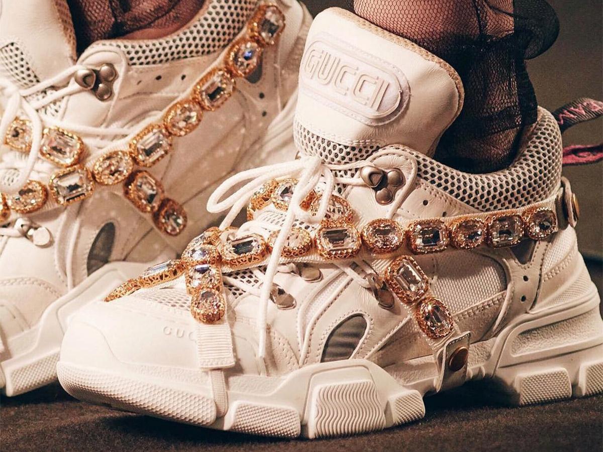 Gucci SEGA Crystal Sneaker