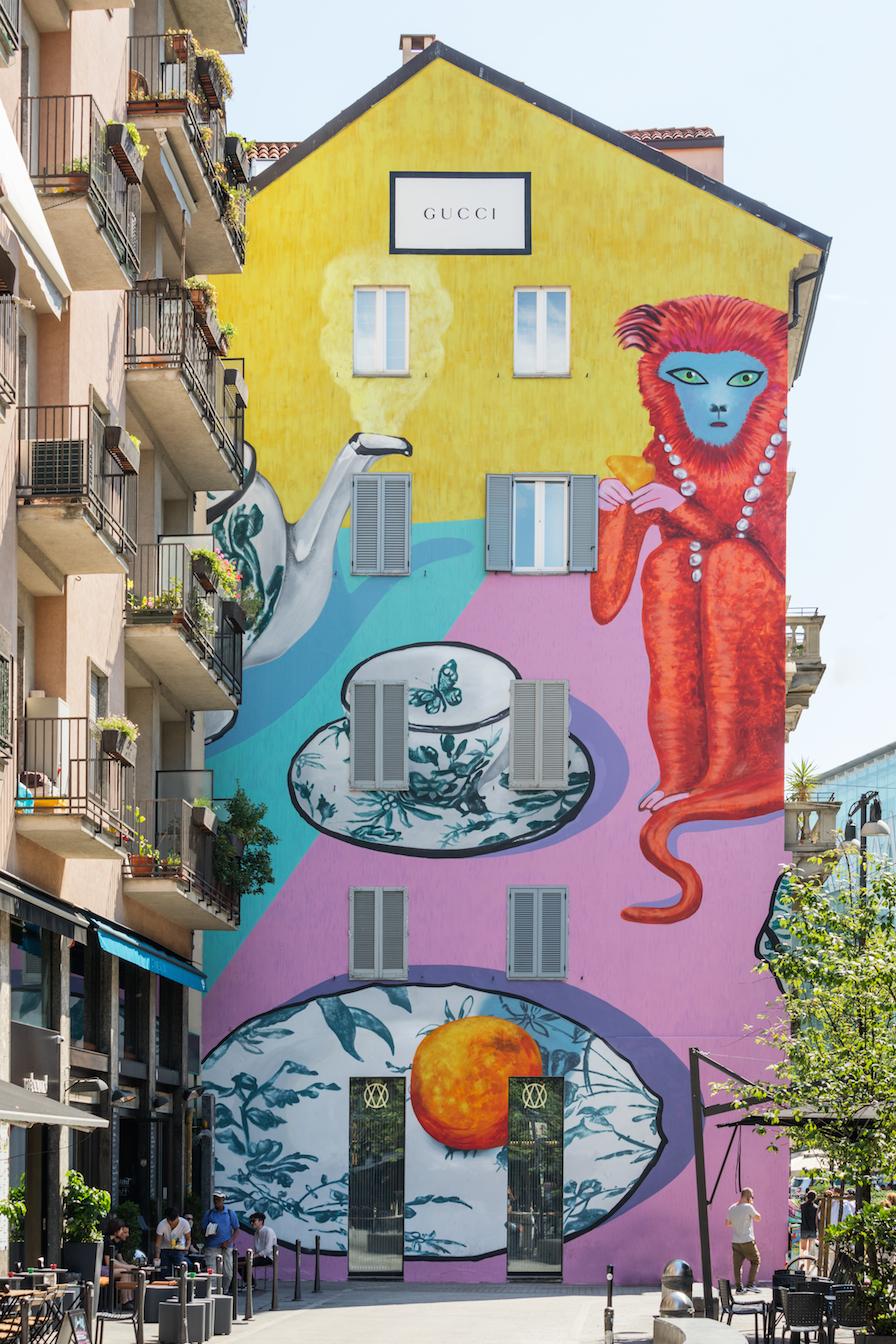 Gucci Decor 米蘭藝術牆