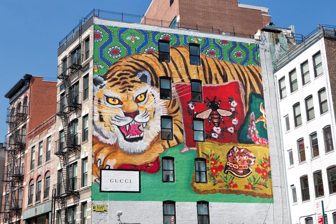Gucci Decor 紐約藝術牆