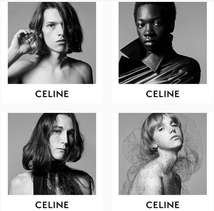 Hedi Slimane CELINE AD