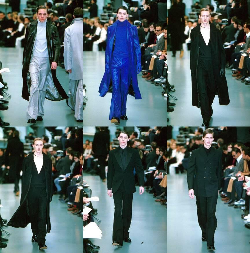 Yves Saint Laurent by Hedi Slimane Autumn Winter 1999