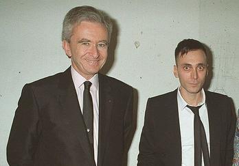 Bernard Arnault & Hedi Slimane