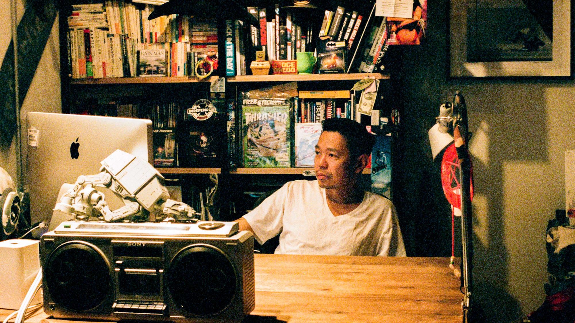 西山徹(Tetsu Nishiyama), photo via Heaven Shop