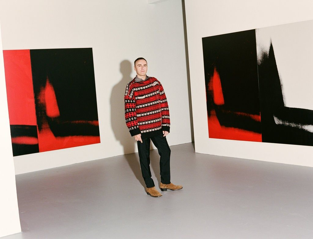 Raf Simons, photo by Clement Pascal for The New York Times