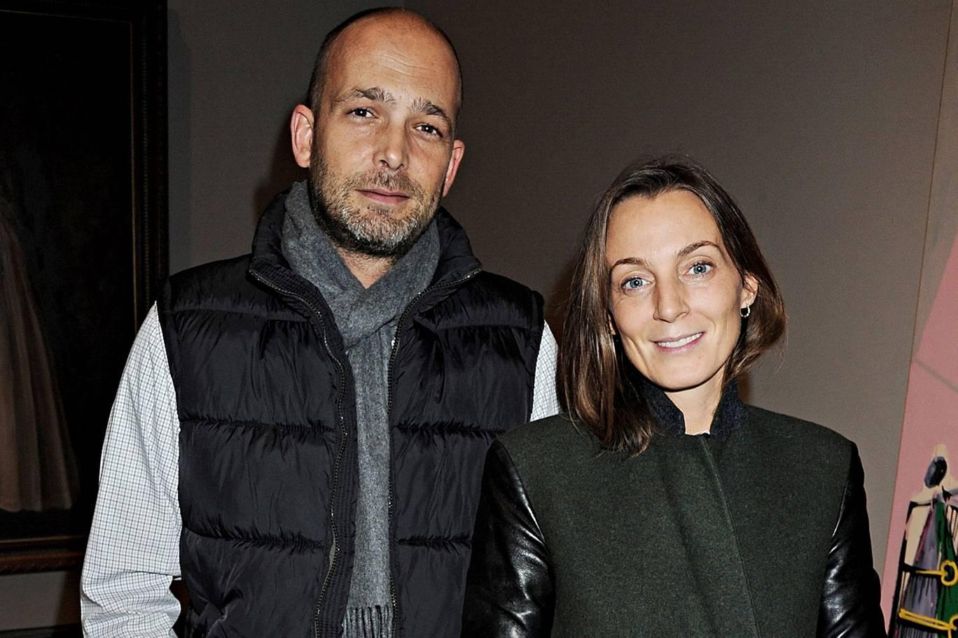Phoebe Philo & Max Wigram, photo via Standard