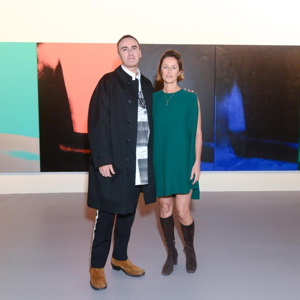 Raf Simons & Jessica Morgan