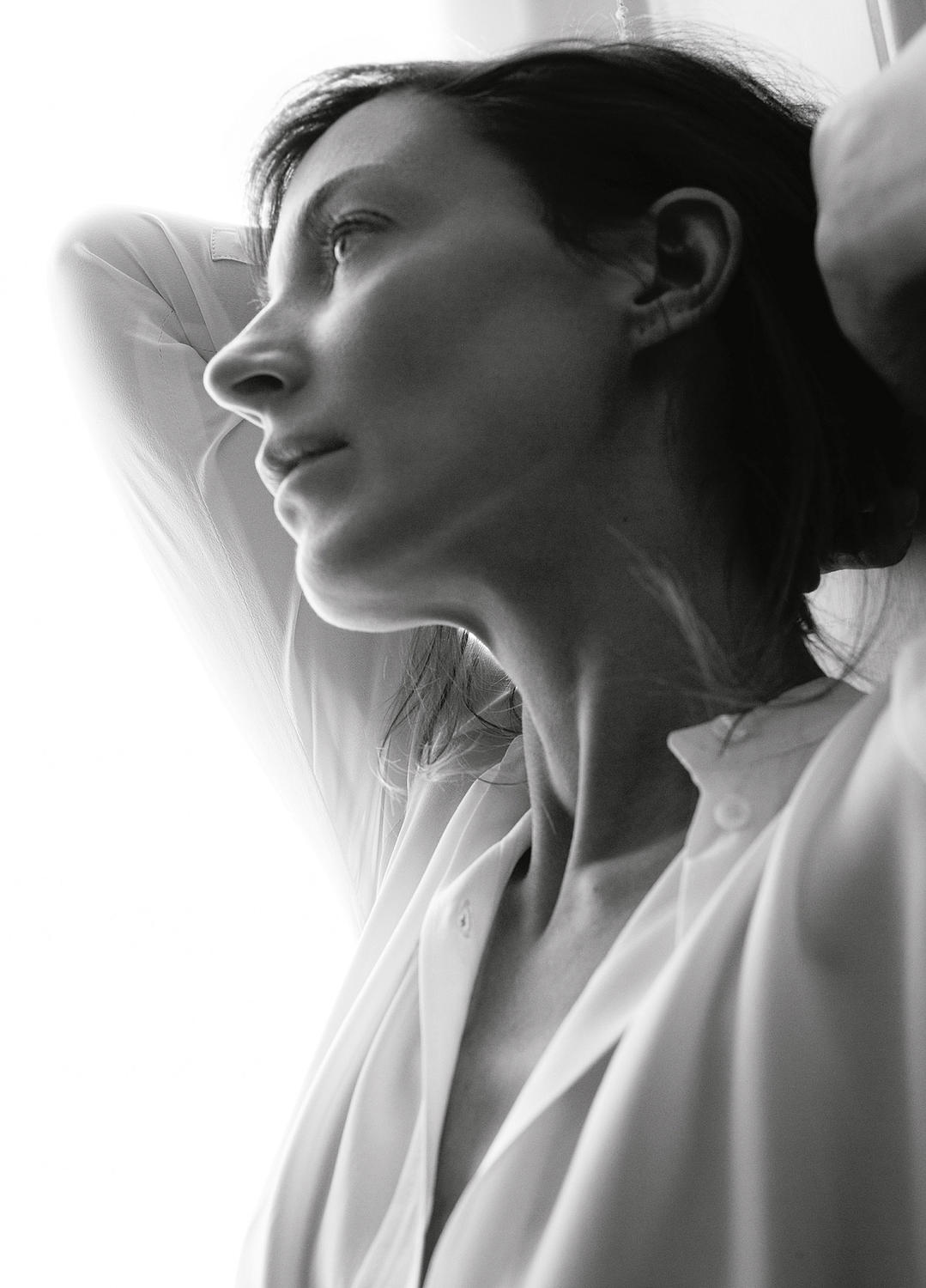 Phoebe Philo by David Sim for The Gentlewoman
