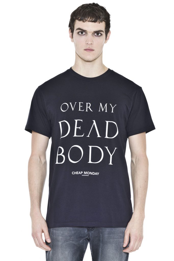 Over My Dead Body Tee