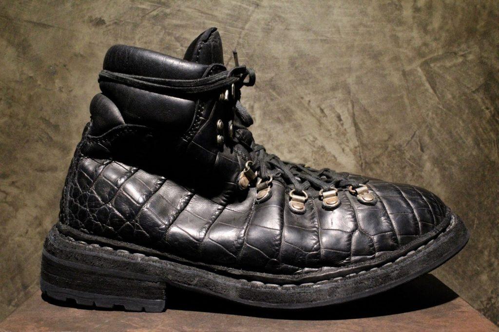 GUIDI FW17-18 Crocodile Mountain Boots