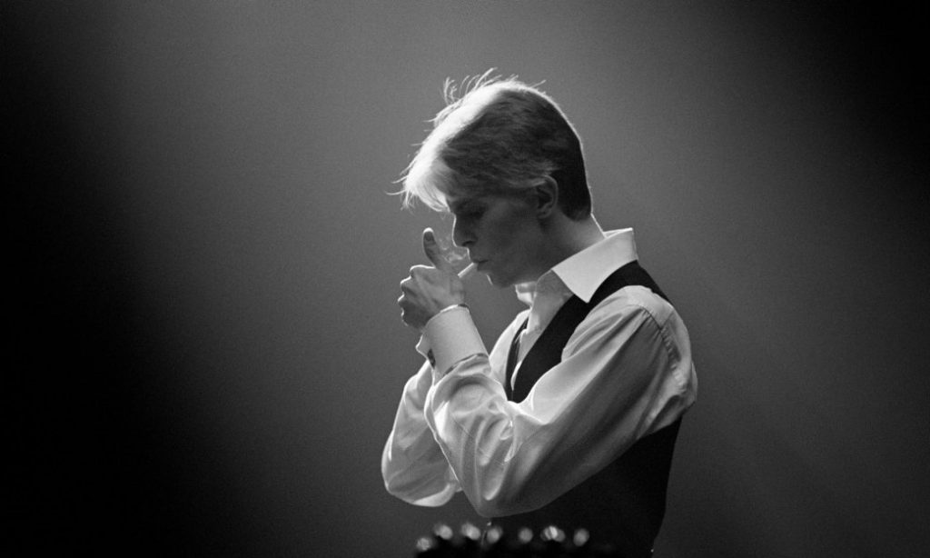 David Bowie 在 1970 年代所David Bowie 在 1970 年代創造的形象「The Thin White Duke」