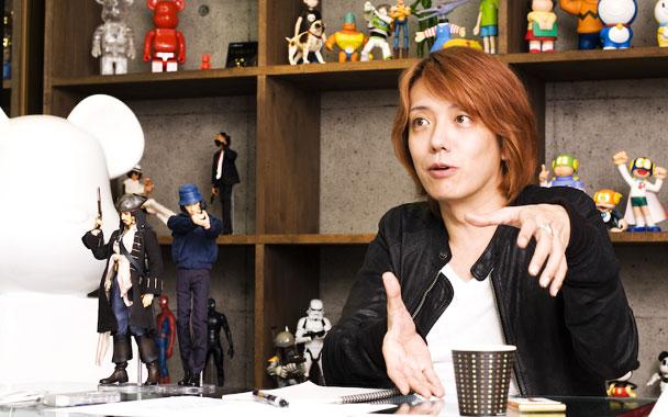 MediCom Toy 創辦人赤司龍彥(Tatsuhiko Akashi)