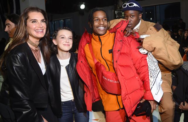 Calvin Klein show, Fall Winter 2017, New York Fashion Week, USA - 10 Feb 2017